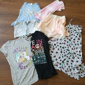 🛑SALE🛑 Girls clothing lot skirt shorts dress LOT